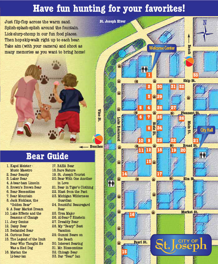 2006 Beach Bears map