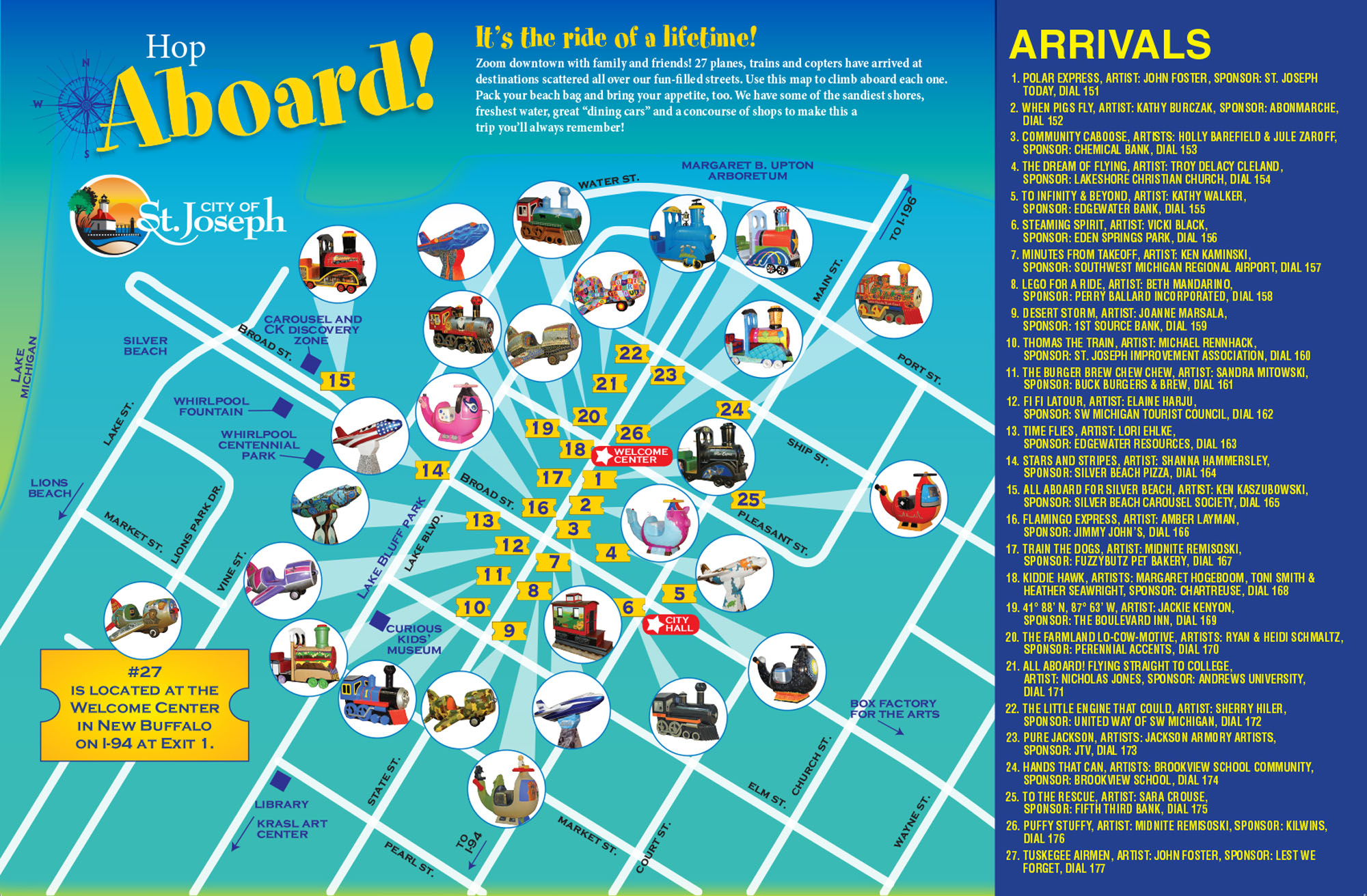 2013 All Aboard map